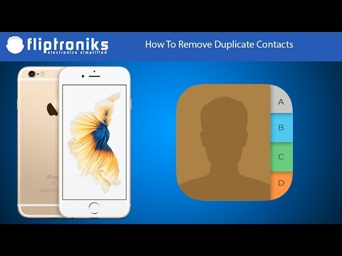 how to delete contacts on iphone 6s