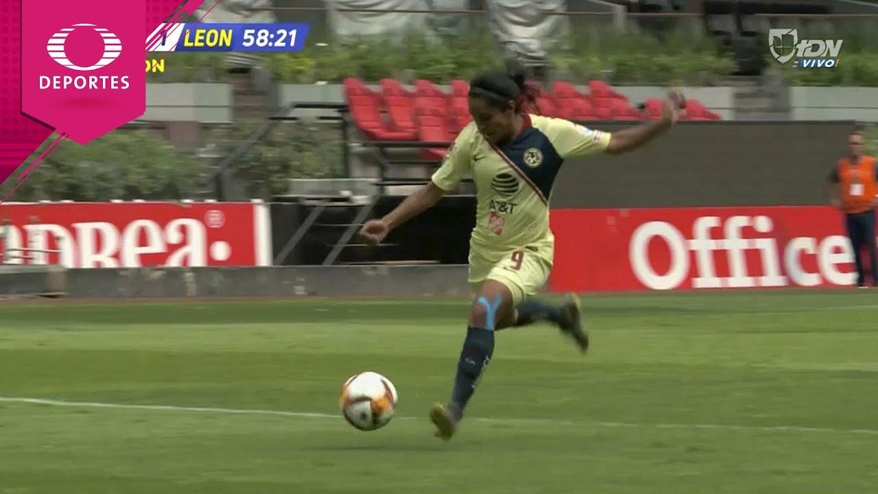 Gol de Lucero Cuevas | América 1 - 1 León | Liga MX Femenil - Cuartos (Vuelta) | Televisa Deportes