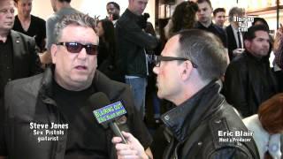 Sex Pistols Steve Jones talks Johnny Ramone bio & Never Mind the Bollocks remaster w Eric Blair