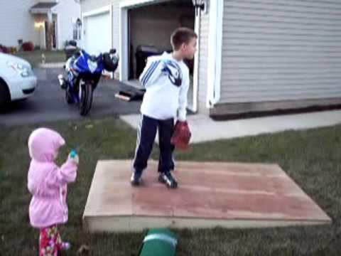 Portable Pitching Mound Youtube