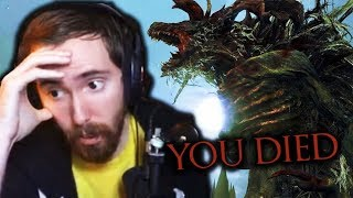 Asmongold DESTROYED Playing BLOODBORNE for the FIRST TIME