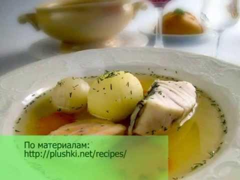Суп из головы осетра