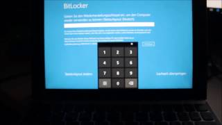 Windows Bitlocker Lösung Windows neu Installieren auf Lenovo Tablet Via USB Stick
