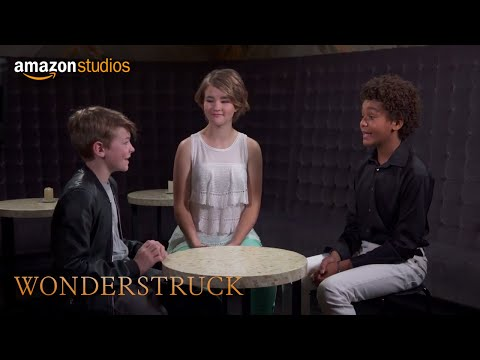 Wonderstruck  Roundtable: Oakes Fegley, Millicent Simmonds & Jaden Michael  Amazon Studios