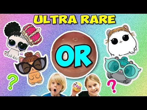 We hit GOLD! Ultra Rare LOL Pets Wave 2 Unboxing + 2 more!