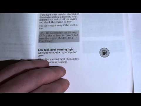 Ford Focus Dashboard Warning Lights & Symbols