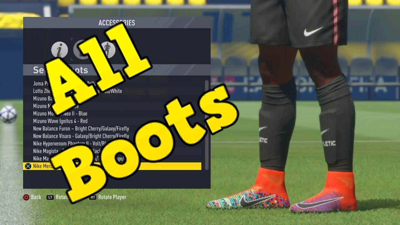 sklep internetowy Kod kuponu Nowe Produkty FIFA 17 | All Boots (Unlocked Hidden Boots)