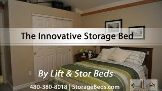 The Innovative Storage Bed By Lift & Stor