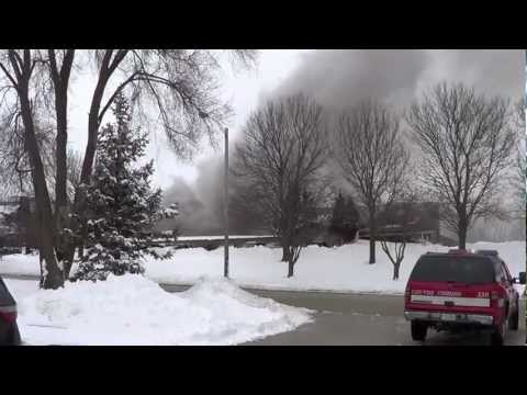 Cary, Illinois, Paint Factory Fire/Explosion On 3/6/2013
