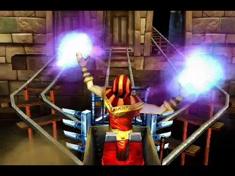 Rail Rush Game - Sandy Sultan in Paraohs Tomb