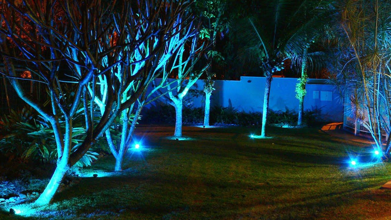 CMBAQUA  Refletor de Jardins e Áreas de Lazer  YouTube