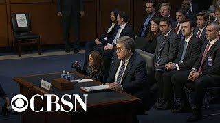 William Barr, attorney general nominee, responds to questions on recusal