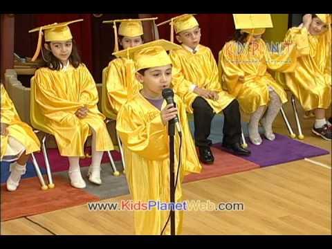 kids planet preschool graduation 2010 part 1 youtube