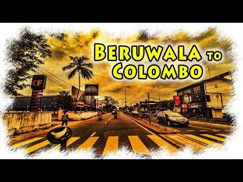 Beruwala to Colombo | Sri Lanka | Drivelapse