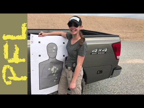 Defensive Handgun Training With My Teenage Daughter | Review of the Front Sight 4 Day course