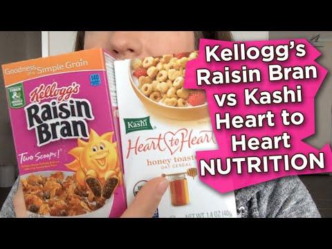 Raisin Bran Cereal vs Kashi Heart to