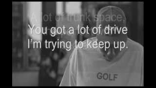 Tyler, The Creator ft. Frank Ocean - Bimmer (Lyrics)