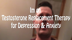 Depression and Anxiety Testosterone Replacement Therapy TRT Low T