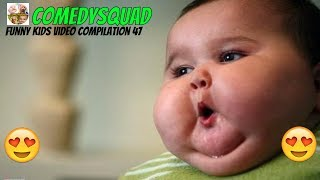 Cute Chubby Babies Cheeks # Funny Kids Video Compilation 47