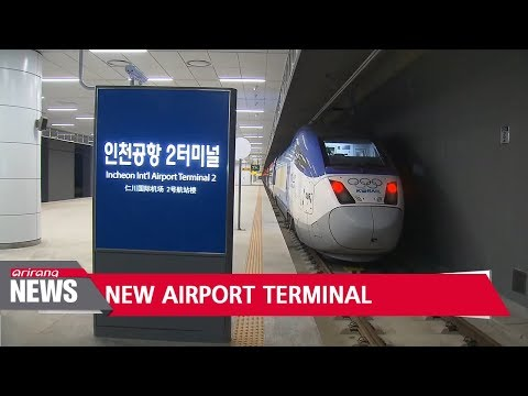 Grand opening of Incheon Airport Terminal 2 on Jan. 18