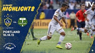 Video Gol Pertandingan La Galaxy vs Portland Timbers