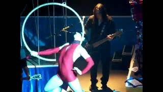 Queensryche 'Cabaret' with exotic dancing and performances accompan...