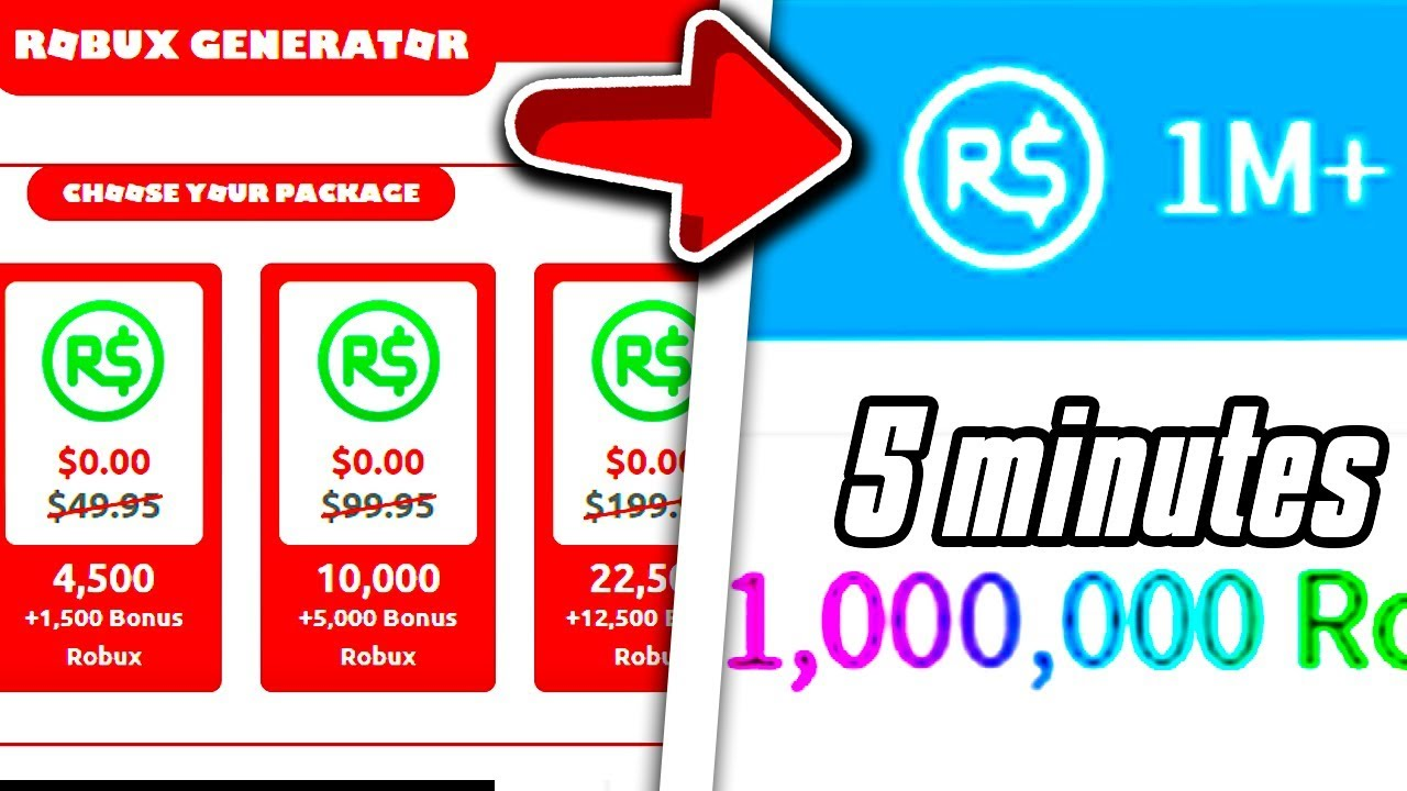 earn robux free 2020 New Robux Generator 2020 Gives Free Robux Robux Generator Gives 1 Million Robux L Roblox L Youtube