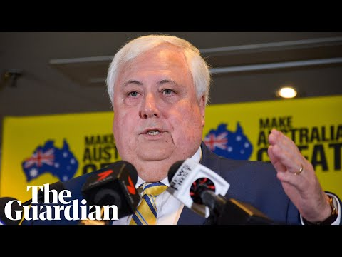 Clive Palmer says he 'decided to polarise electorate' with anti-Labor ads to ensure Coalition win