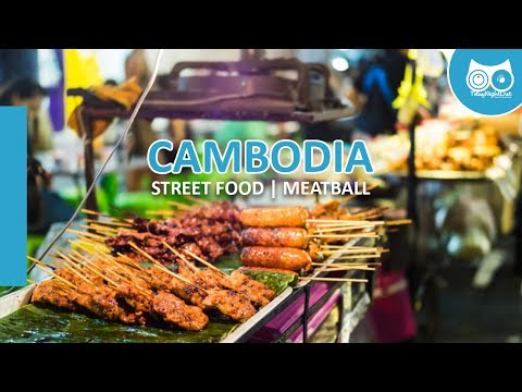 Tituy Night Out | Cambodia Street Food | Toul Tum Pong School