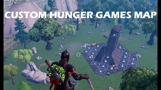 Meine realistische *HUNGER GAMES* Karte In Fortnite