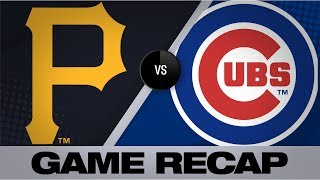Lester does it all in Cubs' 10-4 victory | Pirates-Cubs Game Highlights 7/13/19