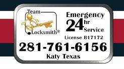 Team-Locksmith® Katy TX 281-761-6156 Car Keys Emergency Lockout