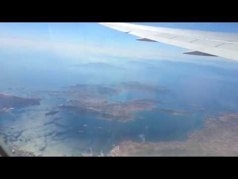 Air Canada Power Take Off Out Of Athens Greece To Toronto