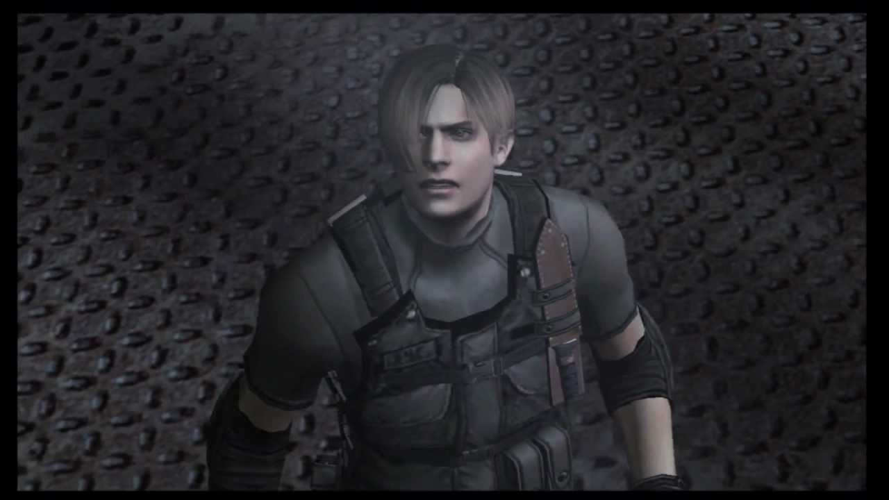 Resident Evil 4 Leon Vs Krauser Knife Fight Hd Youtube