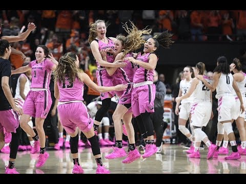 Oregon State Beavers - Beavers top Ducks in Civil War part two 67-62 before sellout at Gill!