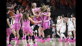 Highlights: No. 12 Oregon State women's basketball hangs on to upset No. 2 Oregon