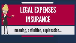 What is LEGAL EXPENSES INSURANCE? What does LEGAL EXPENSES INSURANCE mean?