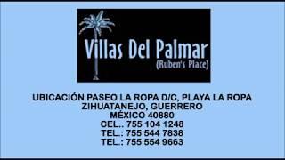 Villas en Playa La Ropa, Zihuatanejo, VILLAS DEL PALMAR