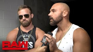 "The Revival are out to prove they are ""Top Guys"" tonight: Raw Exclusive"