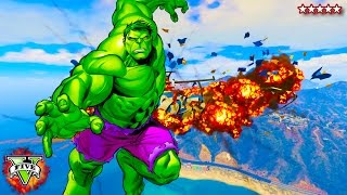 HULK SMASH!!! - GTA 5  THE INCREDIBLE HULK MOD PC!! - GTA 5 HULK GamePlay - (GTA 5 Funny Moments)