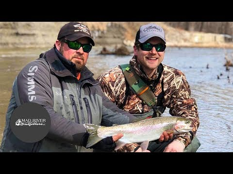 Fly Fishing Guide For Erie Steelhead | Brian Flecshig + Josh McQueen