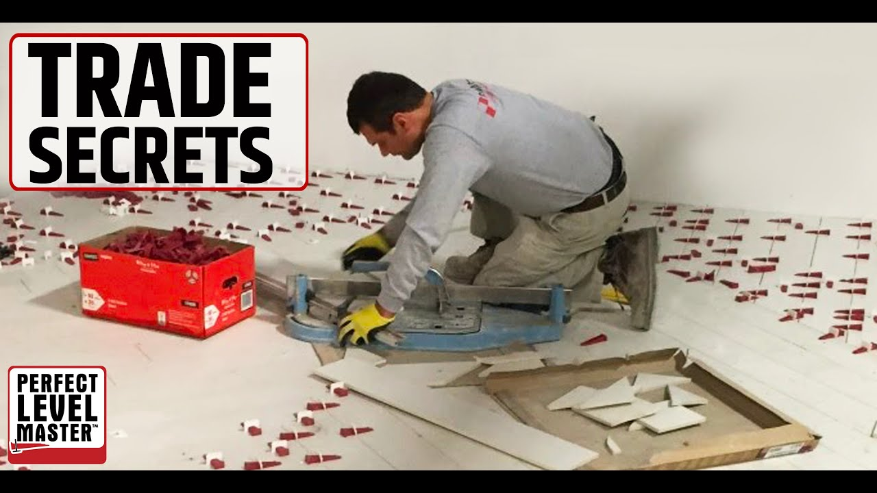Trade Secrets T Lock Tile Leveling System By Perfect