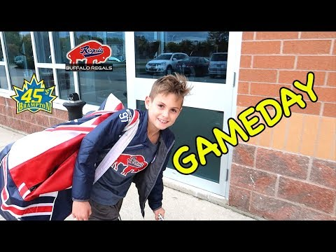Hockey Kids Behind the scenes Big Win!!!