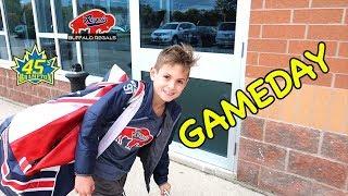 Hockey Kids Behind the scenes Big Win!!!