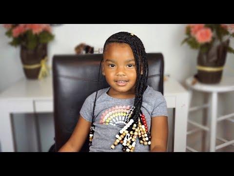 Easy Lemonade Braids For Kids Back To School How To Youtube