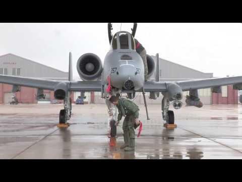 A10 Thunderbolt Ground Operations at Selfridge Air National Guard Base, Michigan