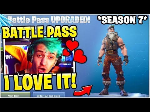 NINJA Reacts To SEASON 7 BATTLE PASS!