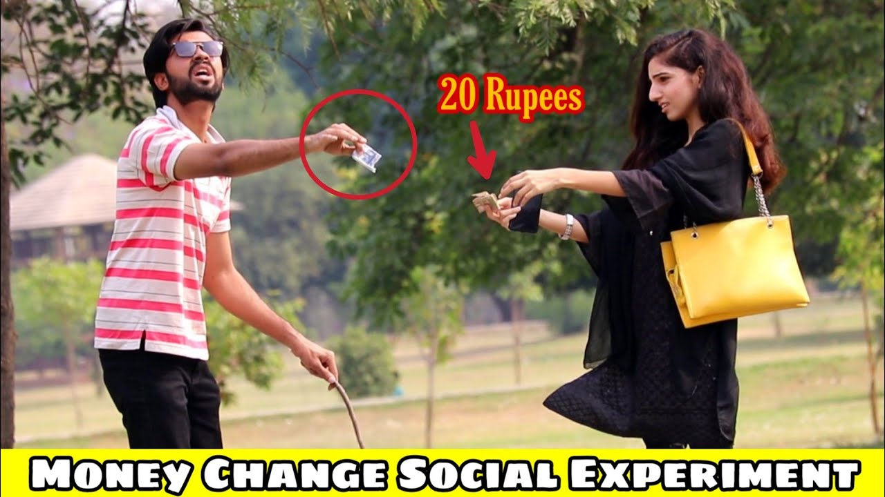 5000 change social experiment prank   part 2   AJ AHSAN