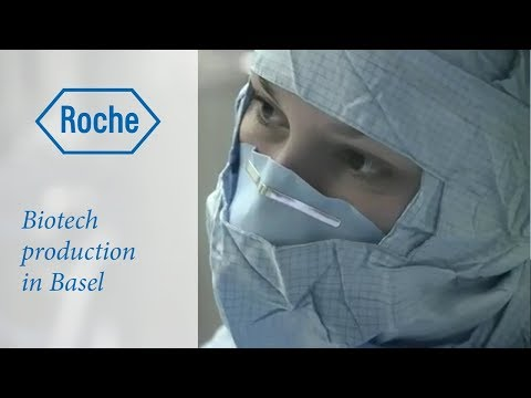 Biotech production at Roche in Basel: find out more