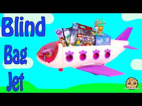 LPS Blind Bag Airplane Jet Of Disney Pixar Inside Out, Shopkins Season 3, Jurassic World + More
